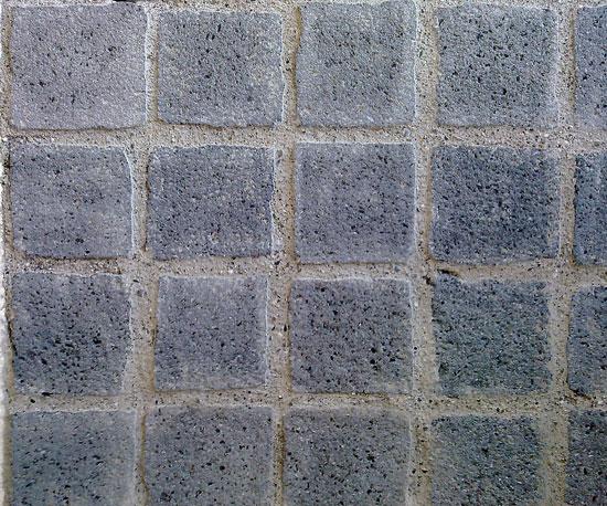 Cubetti in pietra lavica